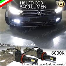 KIT FULL LED VW PASSAT B8 3G LAMPADE H8 FENDINEBBIA CANBUS 6000K 6400 LUMEN