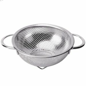 Stainless Steel Colander - Micro-Perforated Stainless Steel Kitchen Strainer