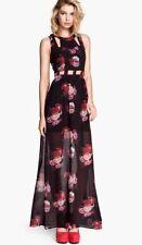 H&M Floral Chiffon Maxi Dresses for Women