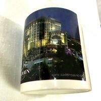 Vintage Las Vegas Aladdin Casino and Hotel 11 Oz Coffee Mug Souvenir Cup