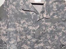 US Military ACU ARMY Digital Camo Fatigue Combat Jacket Shirt Large Reg Insect