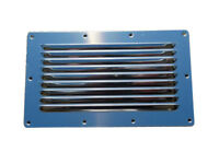 AISI 316 Marine Grade Stainless Steel Rectangular Louvered Boat Vent 250 x 150