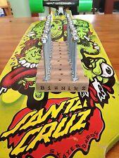 Biznikz Skateboard Longboard Deck Display Wall Skate Mount (30 pc. set) Hangers