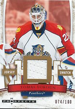 (HCW) 2007-08 Hot Prospects Red Hot TOMAS VOKOUN 74/100 Jersey NHL 01985