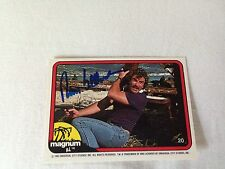 Tom Selleck HAND SIGNED 82 Donruss Magnum PI Card #20 w/COA BLUE BLOODS STAR #02