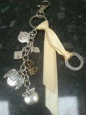 Thank you teacher gift WISDOM keyring, handbag bag charm - handmade & unique UK