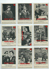 1965 Fleer Hogans Heroes Vintage Card LOT of 34 - See Scan No Doubles RARE !!