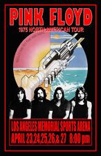Carlena 1972 Pink Floyd Live at Pompeii Movie Plaque en m/étal Vintage pour Magasin d/écoration Murale 20,3 x 30,5 cm Bar