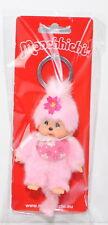 Monchhichi 242467 Cherry Blossom Key Chain Girl Schlüsselanhänger Kirschblüte
