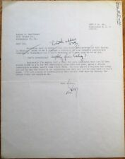 GEORGE W. BRETT 1954 Autograph TLS Typed Letter Signed - Philatelic Authority