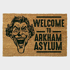 DC JOKER WELCOME MAT OFFICIAL BRAND NEW DOORMAT 60 X 40 CM COIR PVC BACK