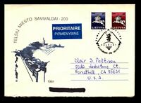 Lithuania 1991/1999 Mixed Franking Cover - L11160