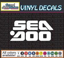 "6"" SEADOO PWC car Truck JetSki Waverunner  window vinyl sticker decal"