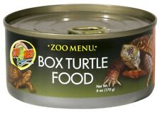 Zoo Med 6oz Pet Box Turtle Food Can Diet - Vitamins & Mineral Health Supplement