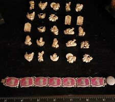 Original Circus Bracelet 18k Gold Charms with