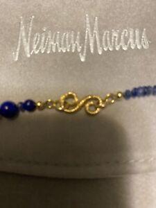 $ 12,400 The Splendid C0 18K Sapphire Bead Necklace