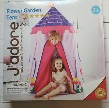 J'adore Kid's Tent Pop Up Play flower garden 43.3 x63 Inches Indoor/Outdoor New