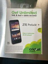 ZTE Prelude Plus Z851 8GB Black Android Smartphone (Cricket Wireless) - New