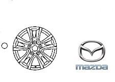 Genuine Mazda 6 2014-2016 Aleación Tapa Centro De Rueda-uno solo-KD5137190