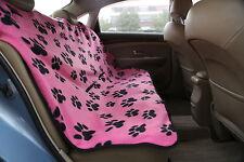 Rosa Protector de asiento de coche para mascotas