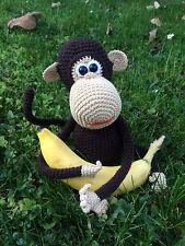 Affe, Kuscheltier, Handarbeit, gehäkelt