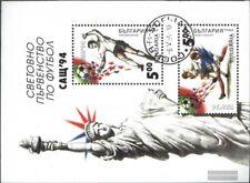 Bulgarie Bloc 226 (édition complète) oblitéré 1994 Football-WM ´94, Etats-Unis
