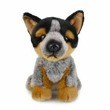 Lil Friends 18cm Blue Heeler Dog Kids Soft Animal Plush Stuffed Toy 3y Grey