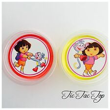 1 x Dora The Explorer Jelly Cup (Empty). Party Supplies Lolly Loot Bag Toppers