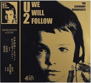 U2 - We Will Follow - The Legendary Broadcasts Live 4CD