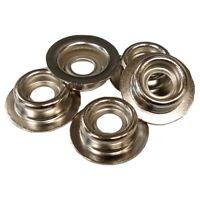 Snap Fastener DOT Stud Stainless Steel Standard Size 25 Pcs.