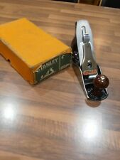 Vintage Stanley Bailey No 4 Woodworking Plane with original box