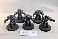 Warhammer Space Marine Ultramarines 30k Terminators Well Painted