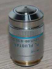 Leica MICROSCOPIO Microscope obiettivamente PL fluotar 40x/1,00-0,50 OIL