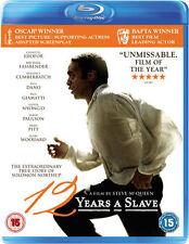 12 YEARS A SLAVE****BLU-RAY****REGION B****NEW & SEALED