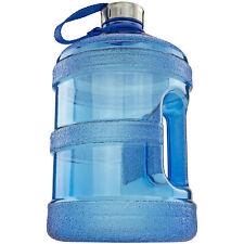 1 Gallon Réutilisable Bleu Gourde sans Bpa W Poignée Super pour Gym Bureau Daily