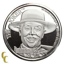 Batman  Limited Edition The Joker 1 Oz Silver Coin 50th Anniversary