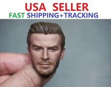 "Custom 1/6 Scale David Beckham Head Sculpt for 12"" Male Figure Doll"