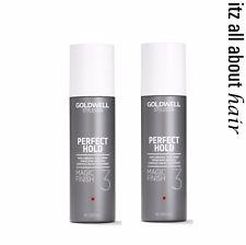 GOLDWELL Stylesign Magic Finish 3 Non Aerosol Hair Spray 200ml x 2 -Duo