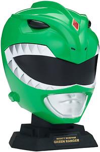 Power Rangers Legacy Mighty Morphin Green Ranger Helmet Mini Display Set