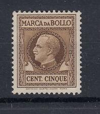 1930-32 MARCHE DA BOLLO TASSA FISSA 5 CENTESIMI G.I MNH** 1