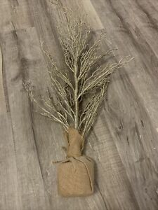 """30"""" Gold Glittered TREE Christmas Holiday Or Wedding Party CENTERPIECE"""