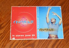 Meshell Ndegeocello Peace Beyond Passion Sticker Postcard 1996 Promo 7x5