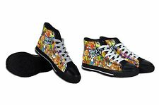 NEW Scooby Doo Collage Casual Mens Shoes