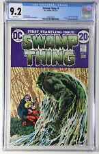 Swamp Thing #1 CGC 9.2 D.C. 1972 Origin, 1st App Lt. Matt Cable, Alec & Linda H.