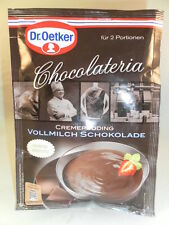 3x Dr. Oetker chocolateria embadurnarnos Leche entera Chocolate 98g (100g/2,38 €)