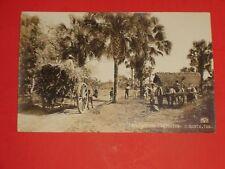ZY118 Vintage RPPC Escena Campestre C. Mante Tam. Mexico?