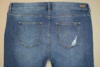 Sneak Peek Sexy Boyfriend Jeans Junior's Size 17 Distressed Destroyed Denim