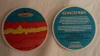 Beavertown brewery UFO beermat beer mat/coaster new