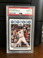 2008 Topps Mariano Rivera Baseball Card #590 PSA 10 Gem Mint