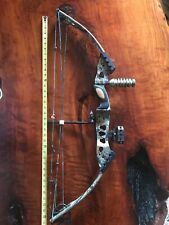 """Browning Rage 36"""" Compound Bow Set 28""""/60# 55-65# Camouflage 21""""-31"""" Draw"""